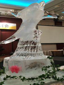氷彫刻 ①