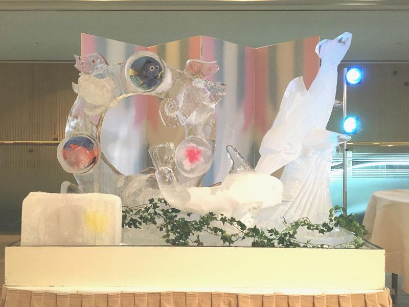 氷彫刻1日目